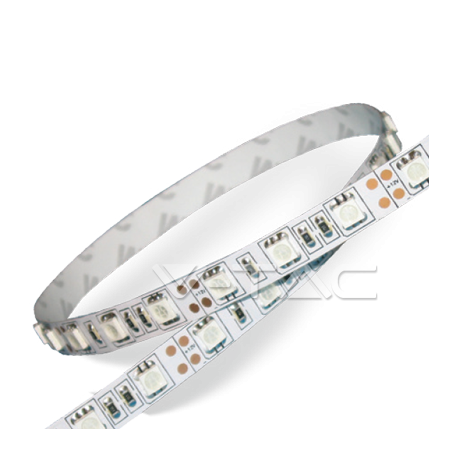 STRISCIA LED 5mt 48W/3000K IP65
