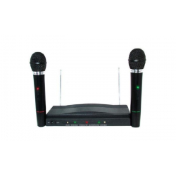 COPPIA MICROFONI WIRELESS